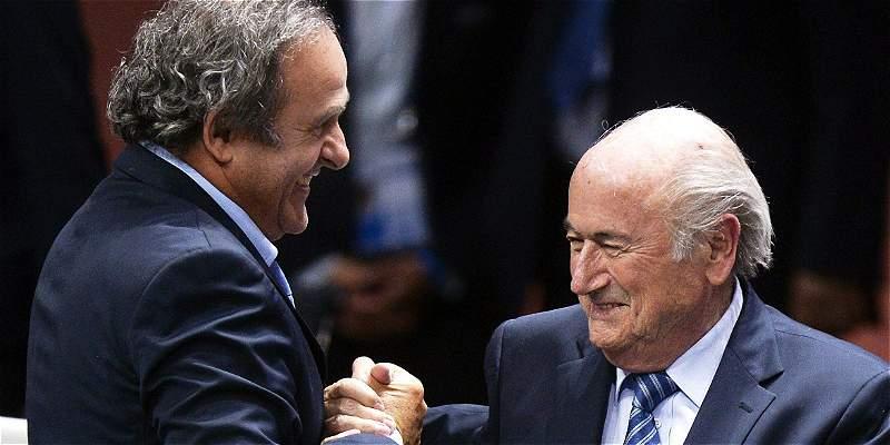 Blatter y Platini, suspendidos por el Comité de Ética de la Fifa