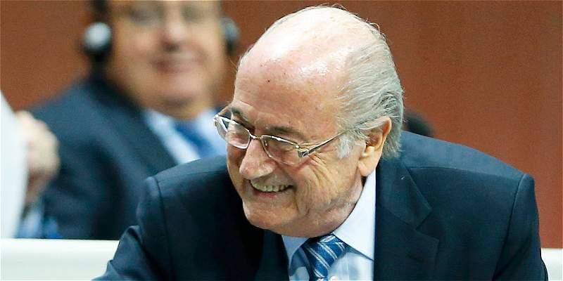 Blatter presentó la apelación a su suspensión como presidente de Fifa