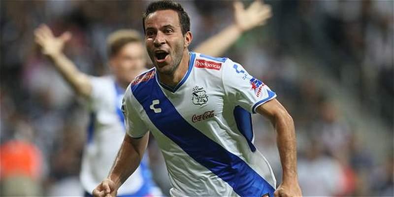 Luis Gabriel Rey le dio empate a Puebla contra Monterrey, en México