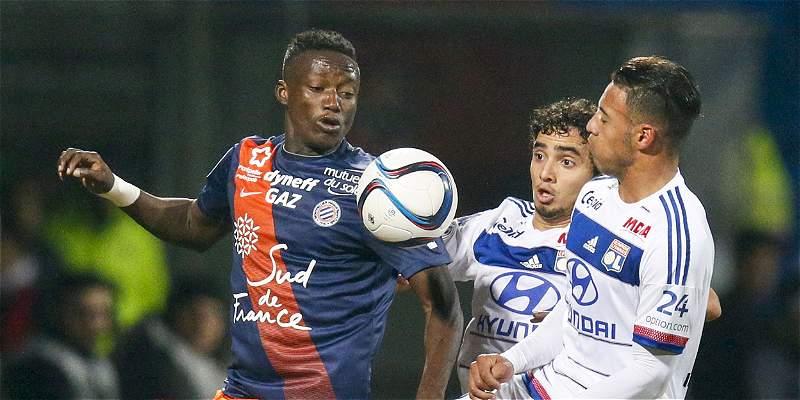 Lyon cayó 2-4 frente a Montpellier y puso en peligro su segundo lugar