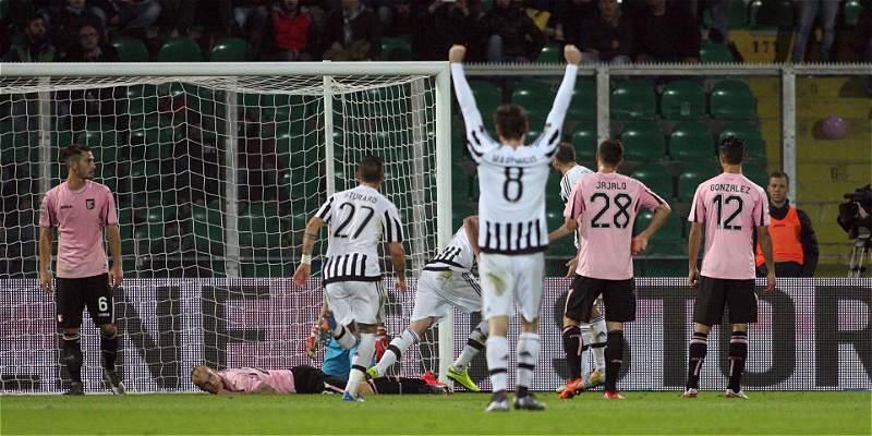 Juventus, con Cuadrado 68 minutos, derrotó 0-3 al Palermo