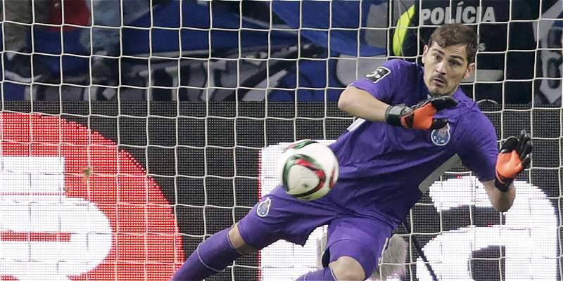 Iker Casillas no descartó jugar en Estados Unidos en un futuro