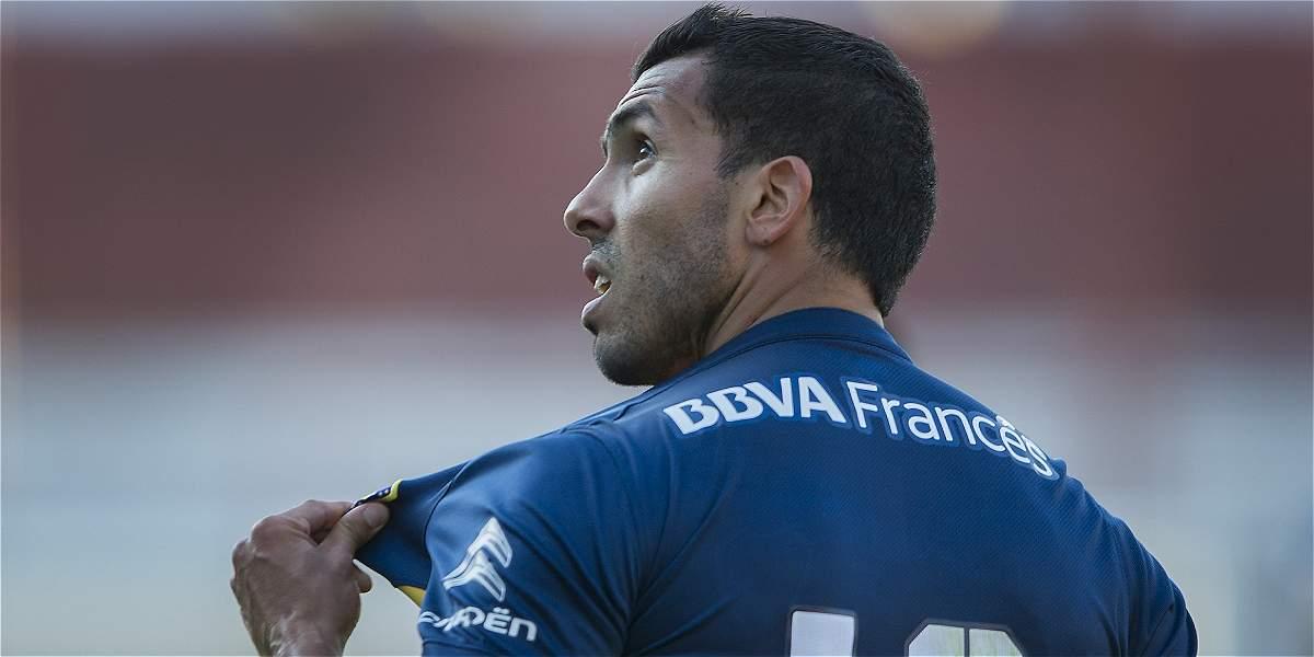 Tévez estará disponible con Boca para final de la Supercopa Argentina