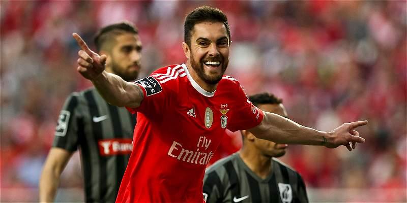 Benfica venció 1-0 a Guimaraes y roza el título en Portugal