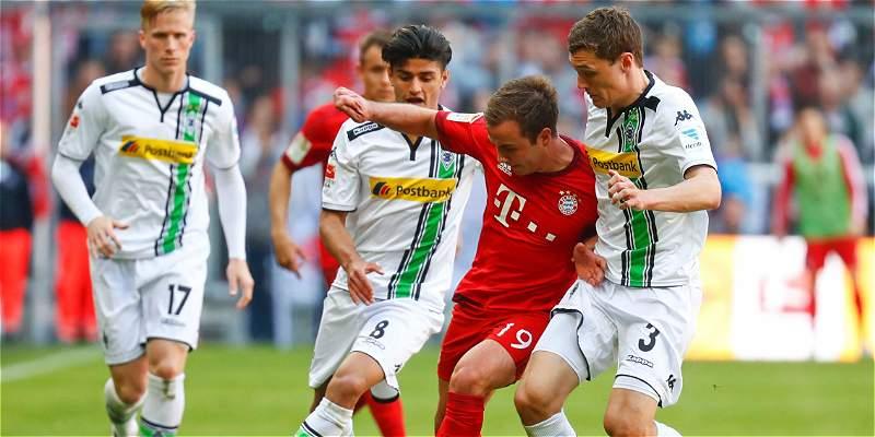 Bayern aplazó la celebración de la Bundesliga: 1-1 con Mönchengladbach