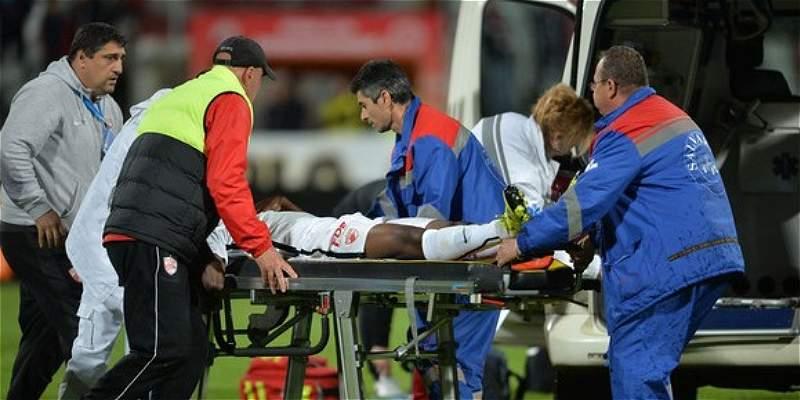 Patrick Ekeng murió