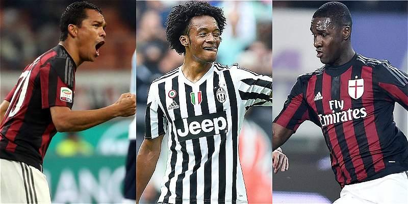 Bacca y Zapata serían titulares de Milan, en final de Copa de Italia