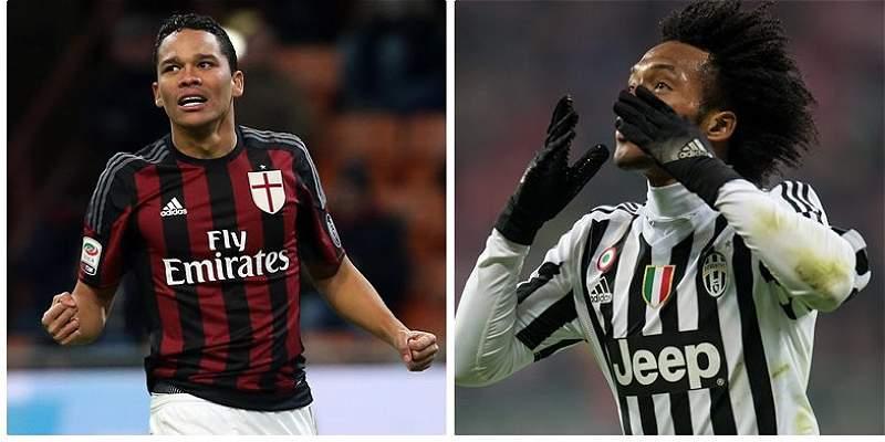 Copa de Italia: Bacca y Zapata, y Cuadrado buscan el título
