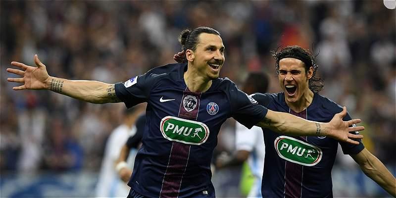 PSG se quedó con la Copa francesa: goleó 2-4 a Olympique de Marsella