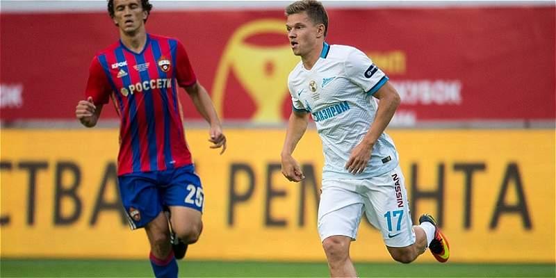 Zenit se consagró campeón de la Supercopa de Rusia, 1-0 contra al CSKA