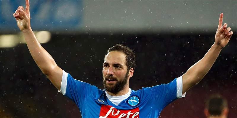 Juventus pagó 90 millones de euros por el goleador Gonzalo Higuaín