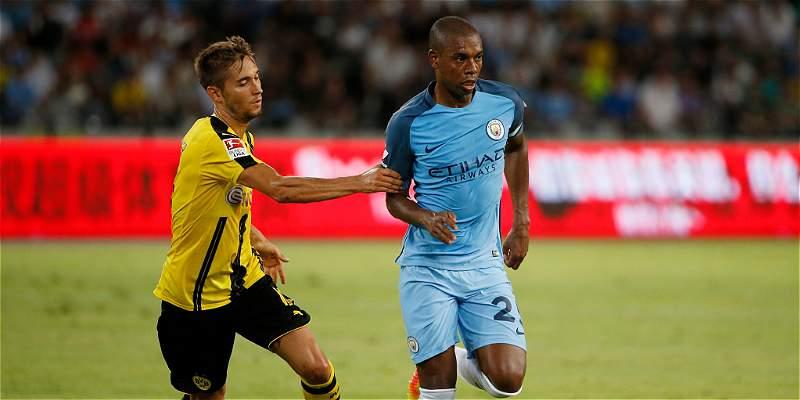 Dortmund, que tuvo a Ramos, perdió en penaltis con el City en amistoso