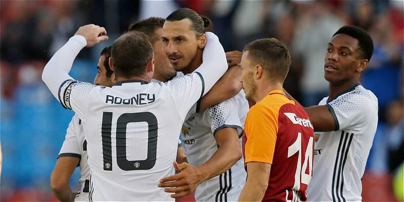 Zlatan Ibrahimovic debutó con un golazo para el Manchester United