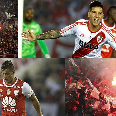 River Plate - Santa Fe / Collage