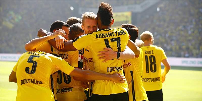 Dortmund se impuso con dificultades al Mainz: 2-1 en la Bundesliga