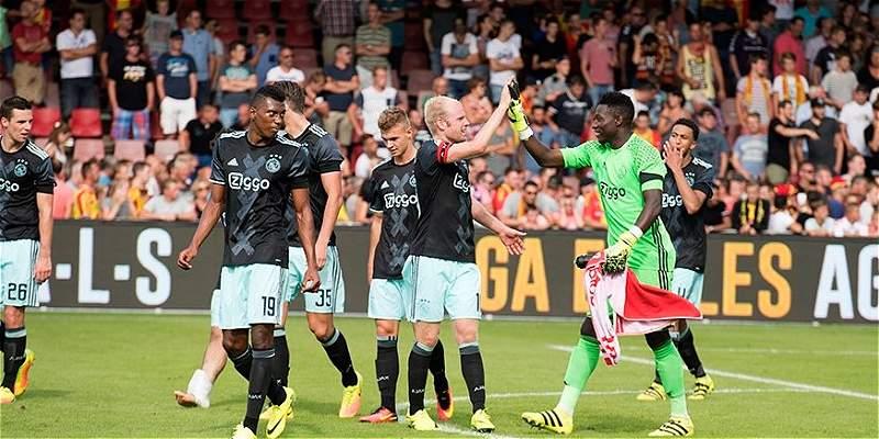Con Sánchez y Casierra, Ajax venció 0-3 al Go Ahead Eagles