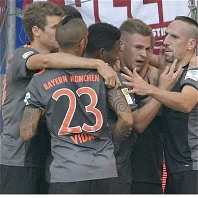 Bayern Múnich y Leverkusen
