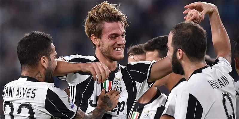 Juventus pierde durante mes y medio a Rugani y Asamoah, por lesión