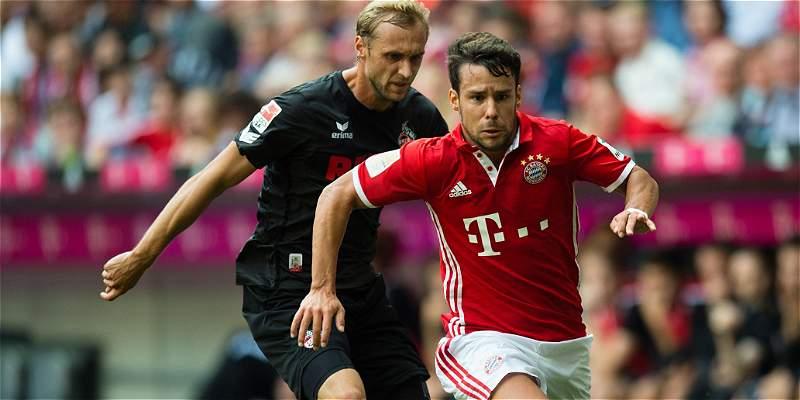 Bayern no pudo seguir ganando en la Liga : empató 1-1 con Colonia