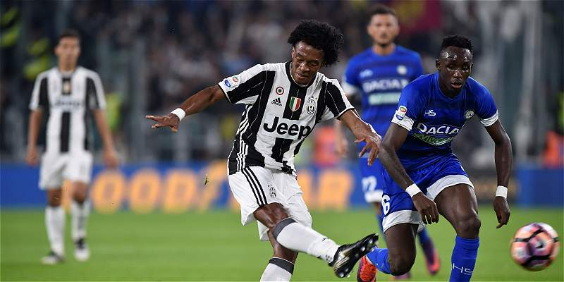 Juventus, con Cuadrado los 90 minutos, le ganó 2-1 a Udinese