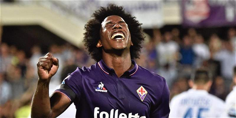 Fiorentina empató 0-0 frente a Atalanta, con Carlos Sánchez 59 minutos