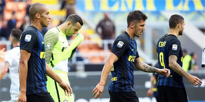 Inter de Milán, con Jeison Murillo, perdió 1-2 contra Cagliari