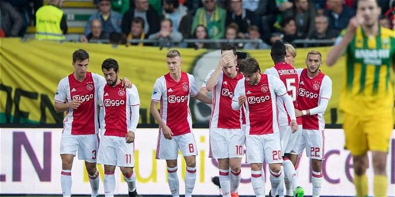 Davinson Sánchez fue titular con Ajax, que ganó 1-2 al Den Haag