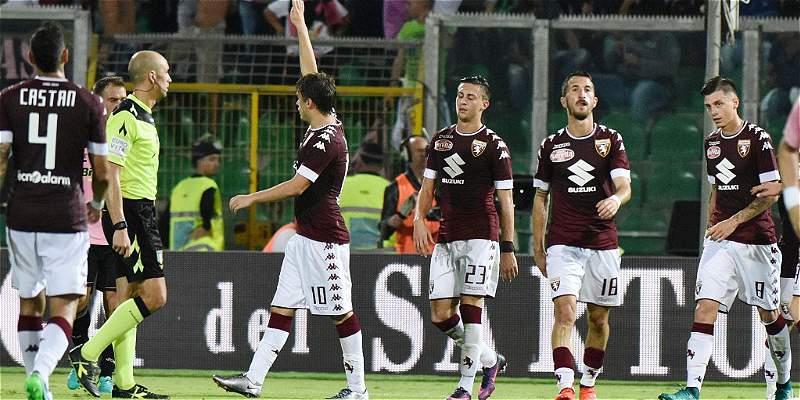 Torino se dio un festín frente a Palermo: le ganó 1-4 en el \'calcio\'