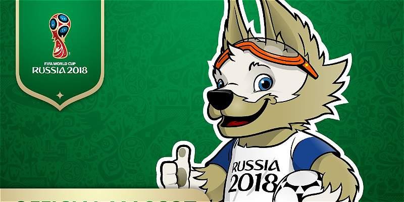 El lobo Zabivaka es la mascota oficial del Mundial de Rusia-2018