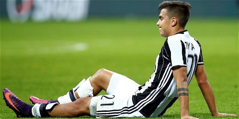 Paulo Dybala podría ser baja en Juventus para los próximos 3 juegos