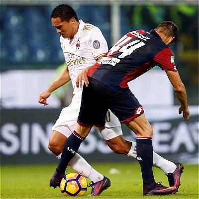Carlos Bacca contra Genoa