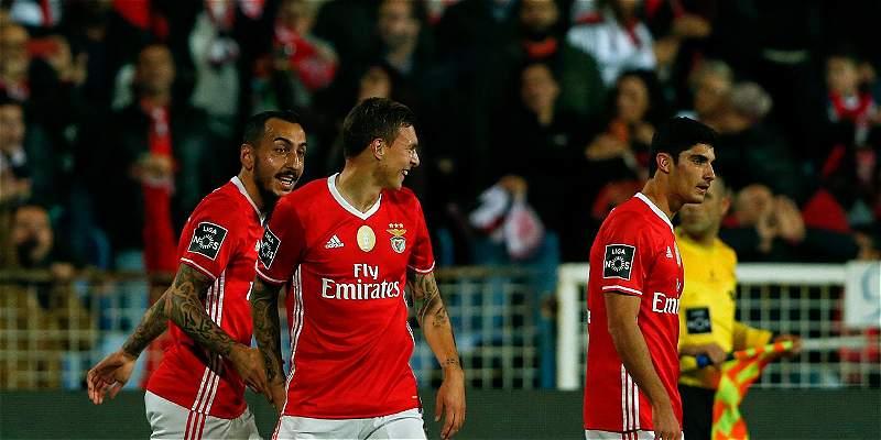 Benfica, de Celis, debera confirmar su liderato contra Pacos Ferreira