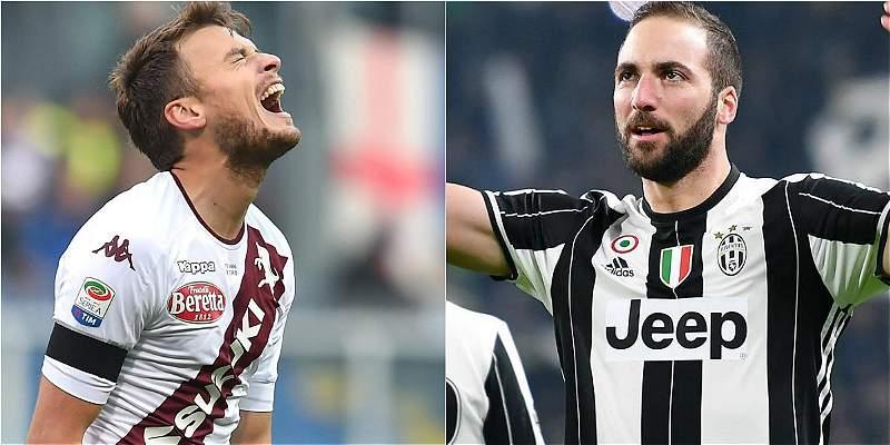 Juventus-Torino y Roma-Milan, lo destacado de la fecha 16 en Italia