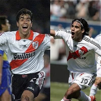 Goles de los colombianos en los partidos entre River Plate y Boca Juniors