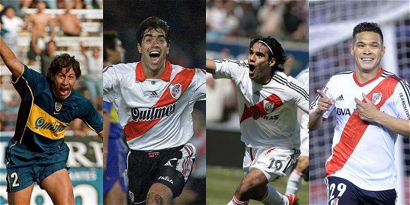 Los goles colombianos que se han visto en la historia del River-Boca