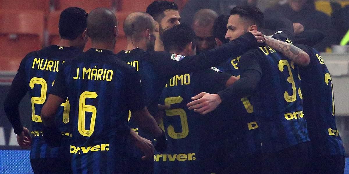 Inter, que tuvo a Jeison Murillo los 90 minutos, venció 2-0 al Génova