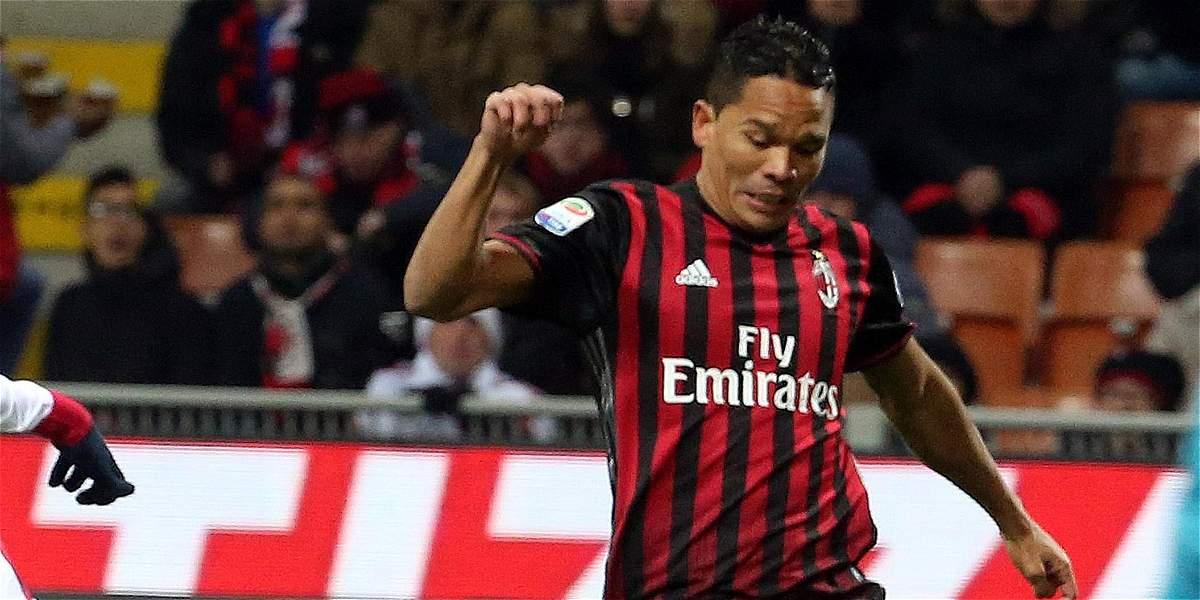Bacca y Zapata, a avanzar en Copa Italia con Milan: enfrentan a Torino