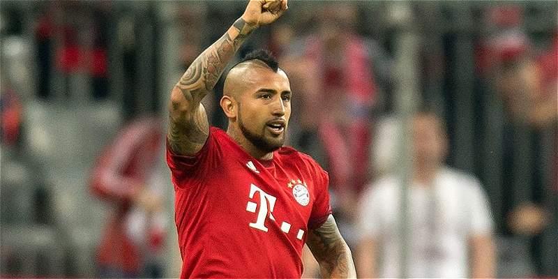 Arturo Vidal podría ser baja dos o tres semanas en el Bayern Múnich
