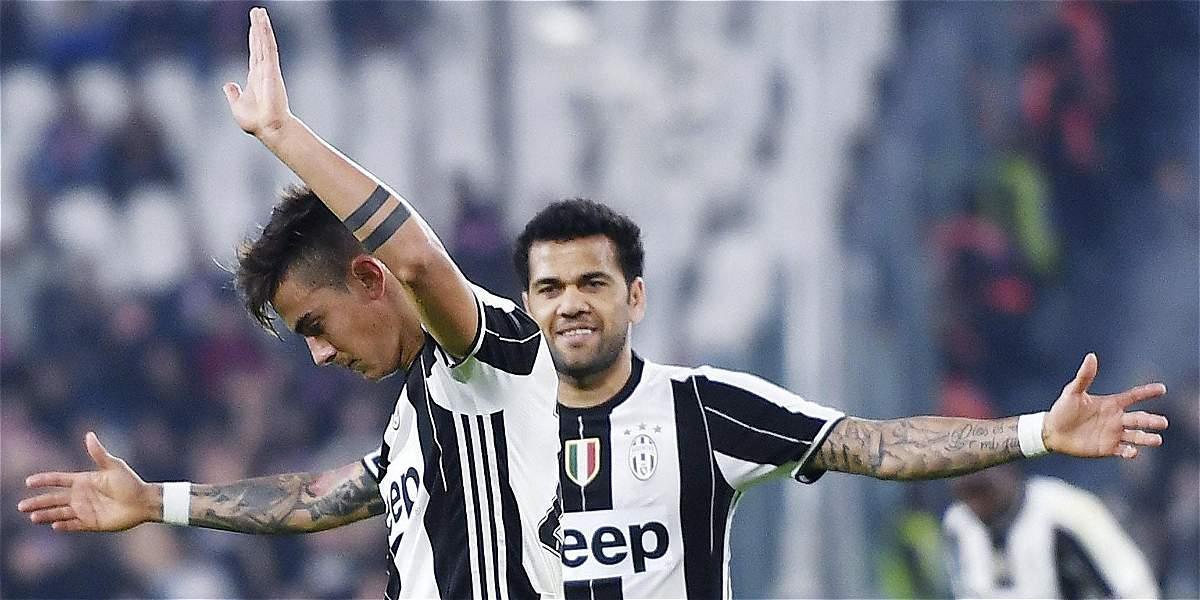 Juventus, con Cuadrado desde el minuto 70, derrotó 4-1 al Palermo