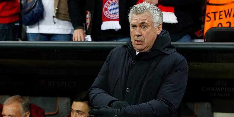 Ancelotti donó 5 mil euros a la Federación Alemana por gesto obsceno