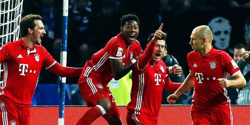 En Alemania,el líder Bayern tiene un duelo interesante contra Hamburgo