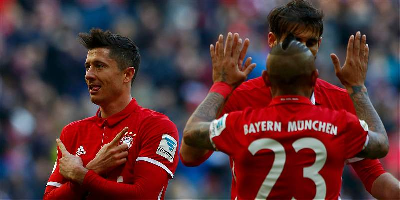 El Bayern Múnich aplasta al Hamburgo en la Bundesliga: goleada 8-0