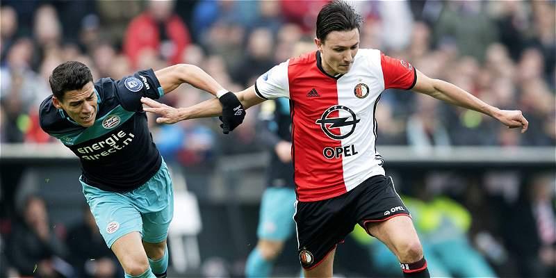 Ayuda tecnológica valido gol del Feyenoord, que venció 2-1 al PSV