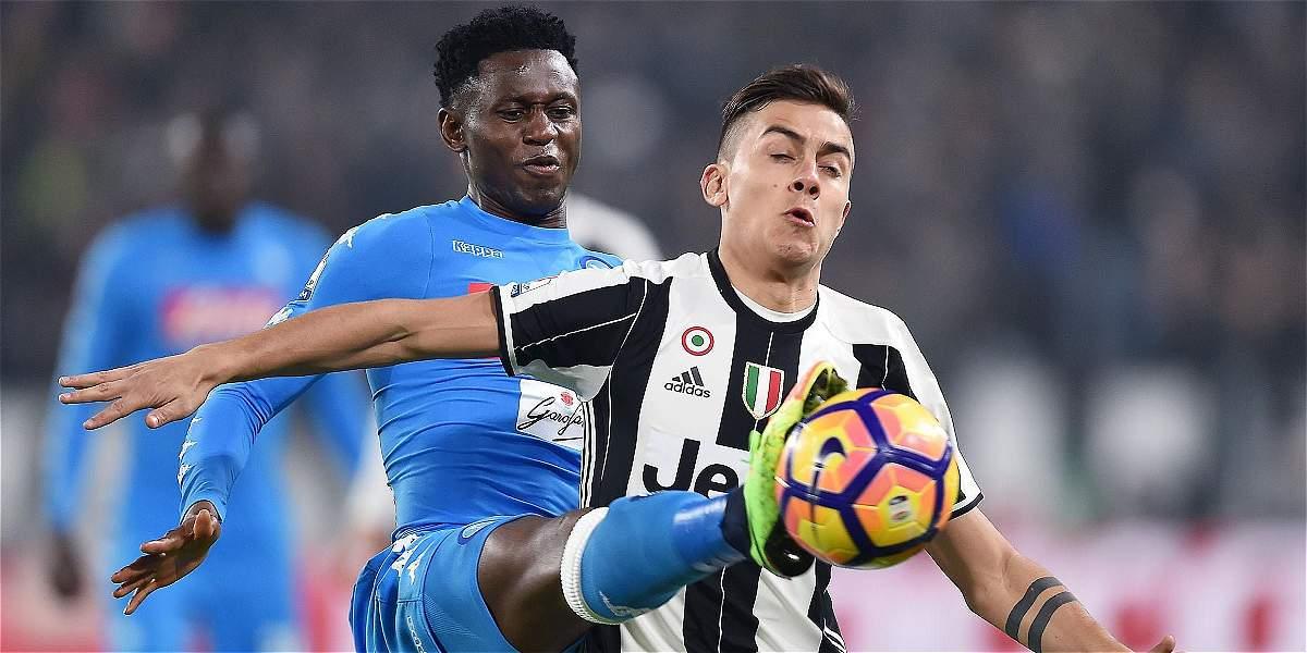 Juventus remontó y superó 3-1 a Nápoles en la semifinal de Copa Italia