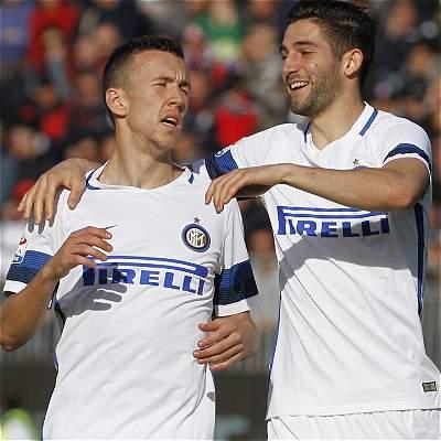 Inter de Milán, con Jeison Murillo de suplente, goleó 1-5 al Cagliari