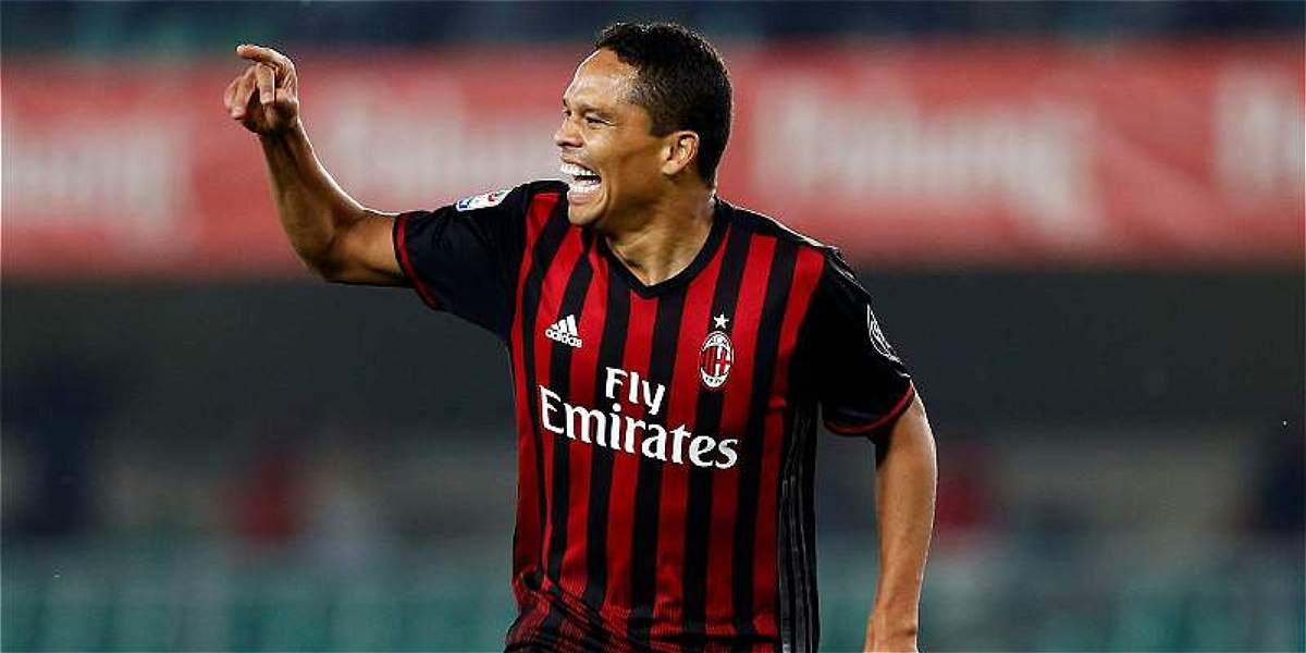 Juventus le ganó a Milan 2-1: Bacca marcó para el 'rossonero'.