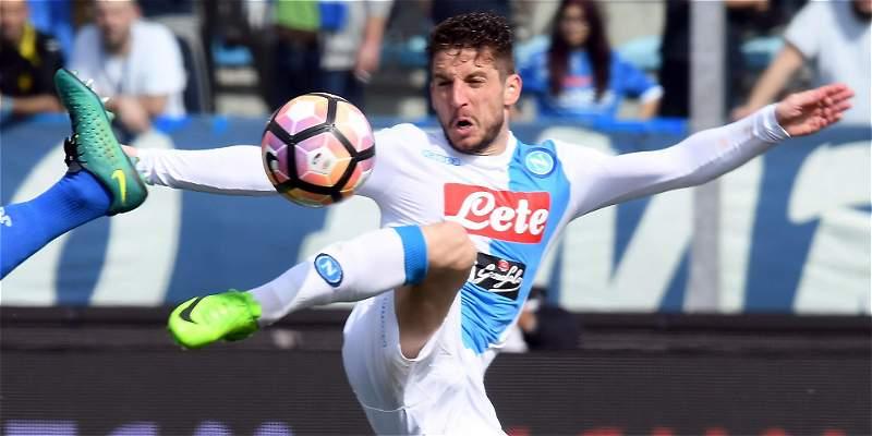 Nápoles superó al Empoli y lidera el Calcio