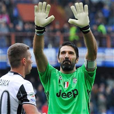 Buffon agrandó su historia en Juventus: es quien más minutos ha jugado