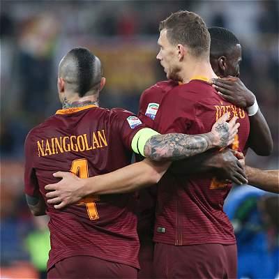 Roma volvió a la senda del triunfo y le ganó 3-1 a Sassuolo en Serie A