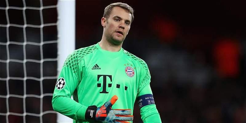 Neuer, baja para Bayern Munich en los próximos dos partidos de Liga